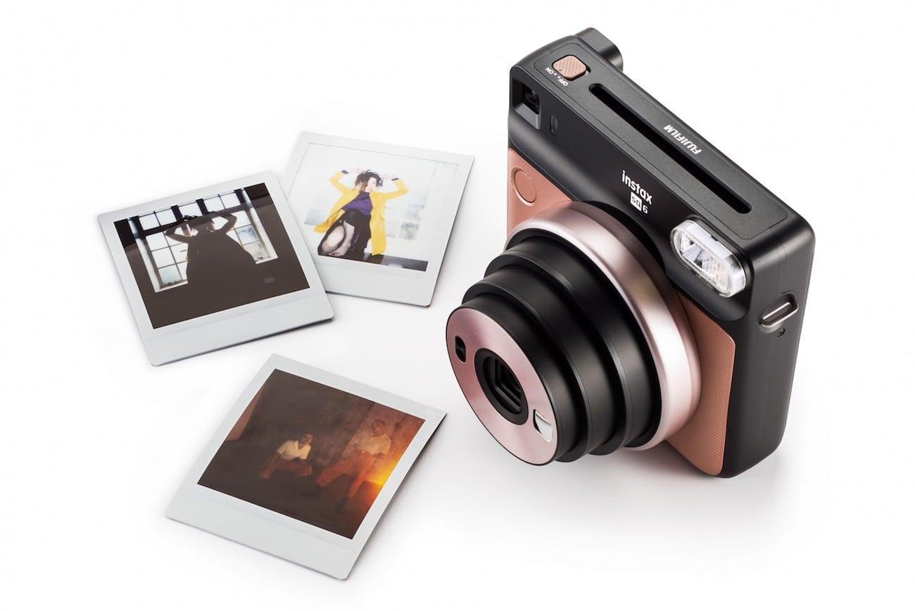 Fujifilm Instax SQ6 Square Format Analog Camera-GadgetAny