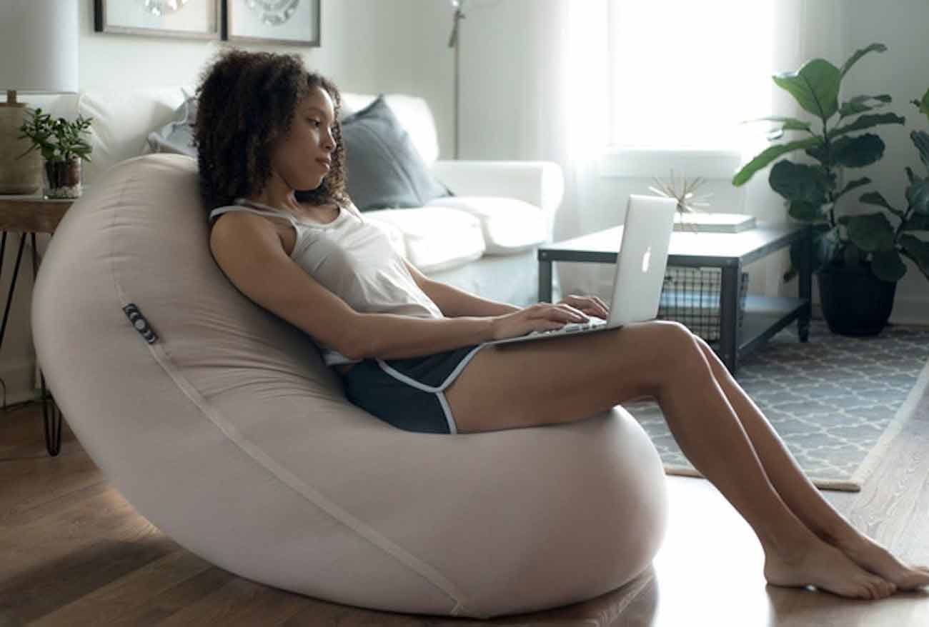 Moon Pod Zero-Gravity Beanbag Chair-GadgetAny