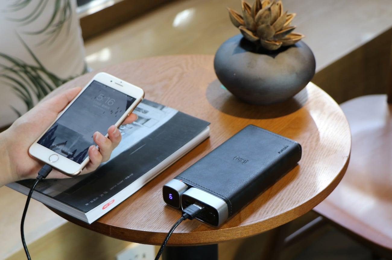 PURIDEA Pro X Wireless Fast Charging Power Bank-GadgetAny