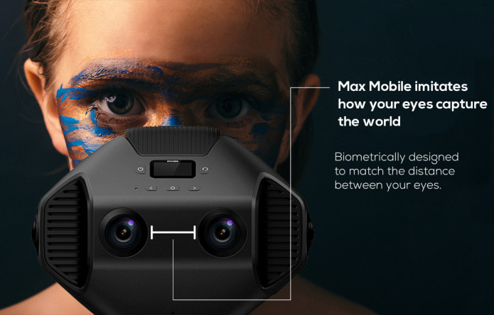Detu MaxMobile: First 3D 8K 360 VR Camera With AI-GadgetAny