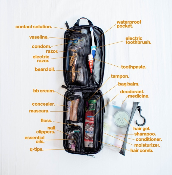 The Best Toiletry Bag For Travel The Explorer PLUS-GadgetAny