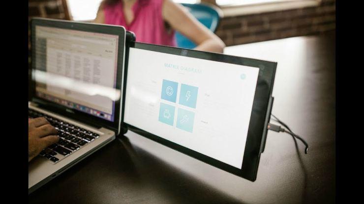 DUO Portable Dual Screen Laptop Monitor-GadgetAny