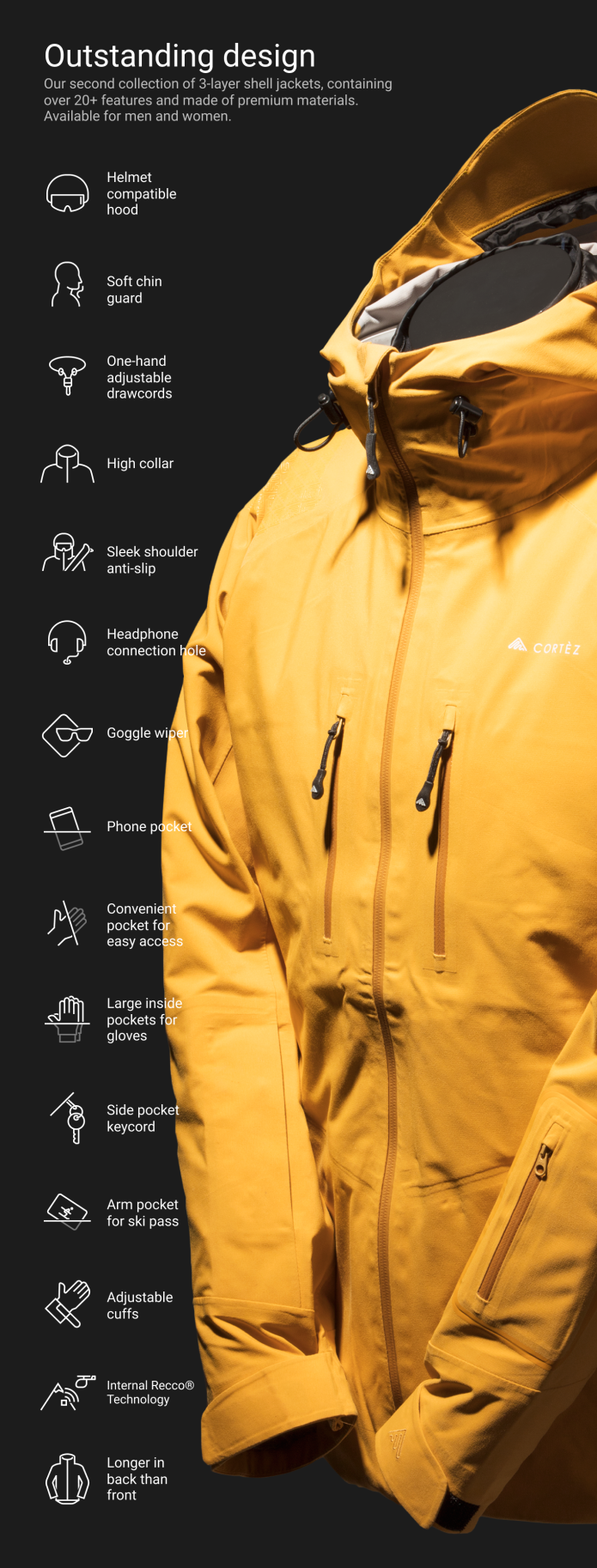 Cortez: High-quality jacket at revolutionary price-GadgetAny