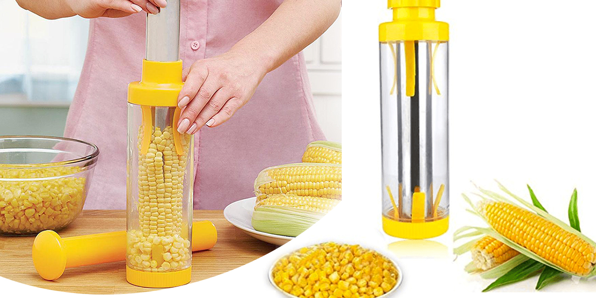 Useful Kitchen Gadgets - Corn Kernel Stripper