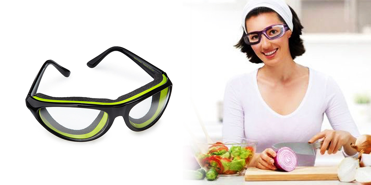 New Kitchen Gadgets - Tear Free Onion Goggles