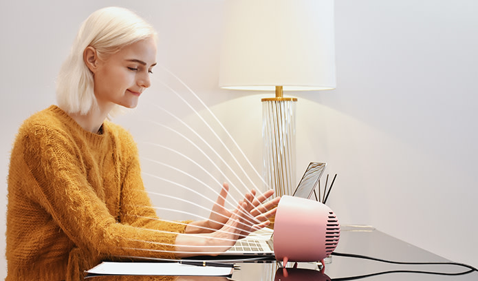 Rone Mini Heater Keeping you Warm and Happy!-GadgetAny
