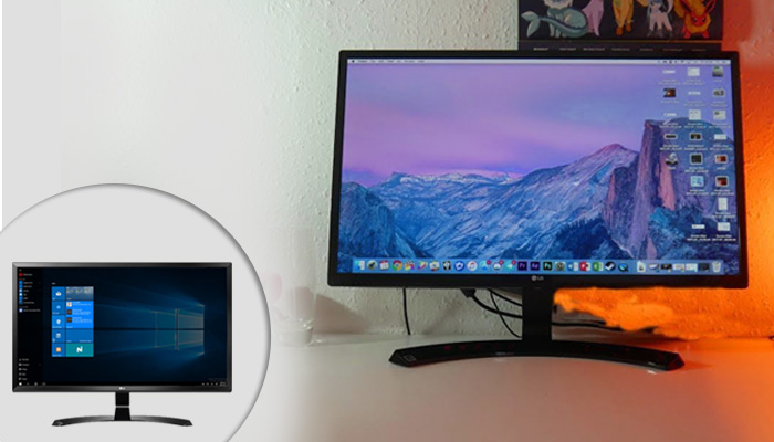 LG 27UD58-B 4K UHD Display