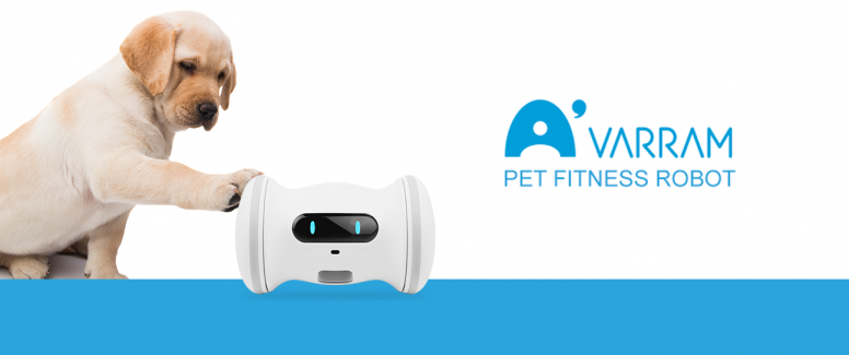 VARRAM – A Smart Fitness Robot For Your Pet-GadgetAny