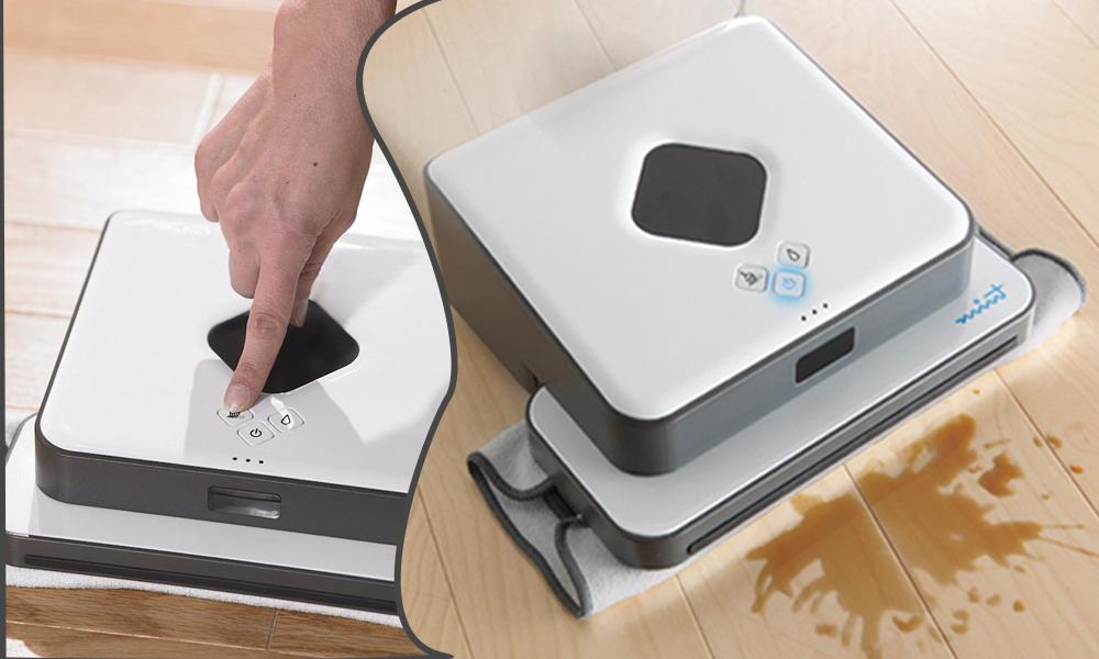 Super Efficient Floor Mopping Robo