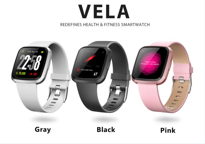 Vela Smartwatch – Your Daily Health & Fitness Coach-GadgetAny