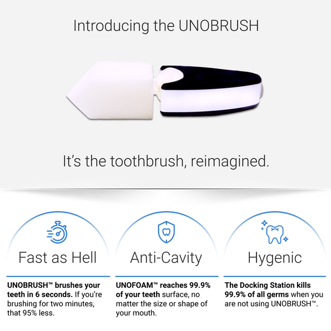 UNOBRUSH – Toothbrushing Reimagined-GadgetAny