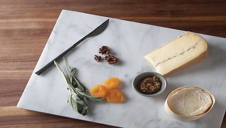 An Ultimate Marble Pastry Board By Fox Run-GadgetAny