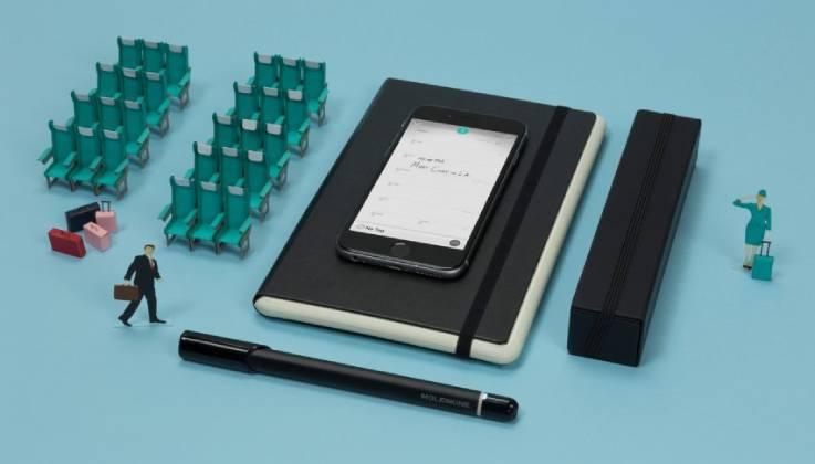 Black Smart Diary/Planner-GadgetAny