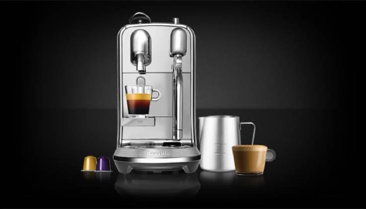 Breville Nespresso Creatista Single Serve Espresso Machine-GadgetAny