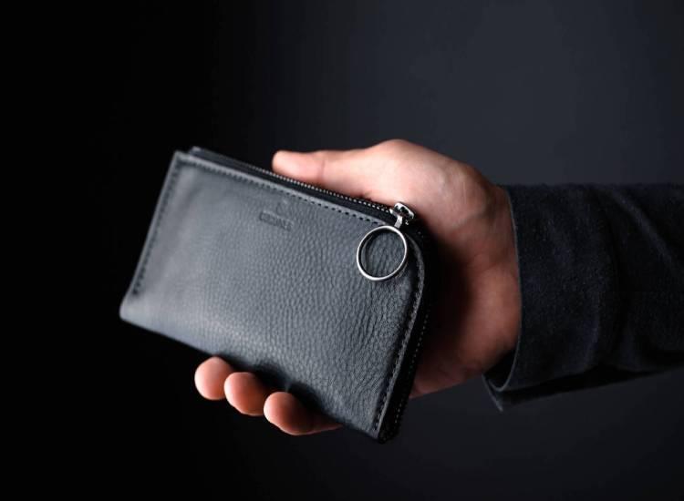 Haber London Flat Leather Passport Holder-GadgetAny