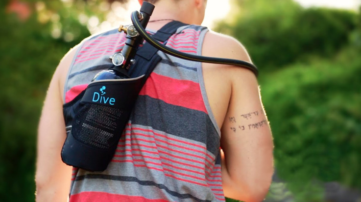 Dive Portable Lungs-GadgetAny