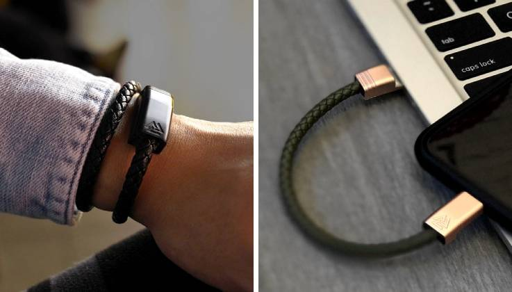 Infinity Links Wearable Charging Cable Bracelet-GadgetAny