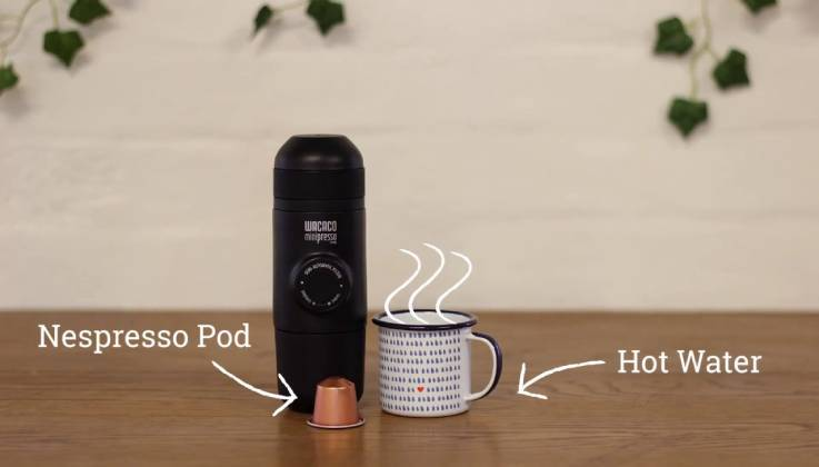 MiniPresso Handheld Espresso Maker-GadgetAny