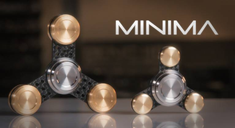 Minima Superior & Premium Fidget Spinner-GadgetAny