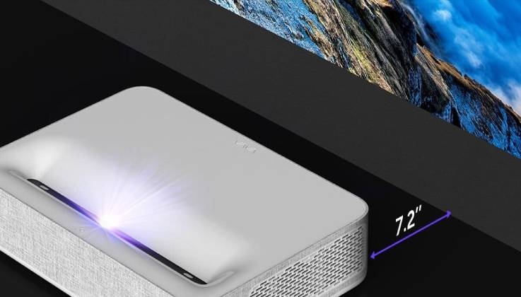 Vava 4K Laser Projector With Massive 150″ Screen-GadgetAny