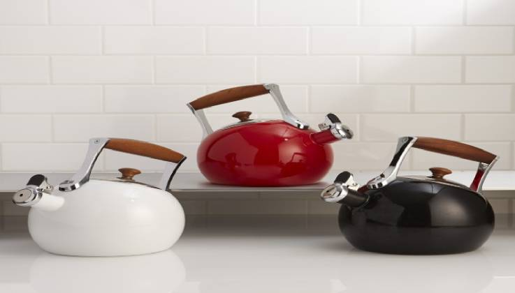 Nambe Classic Style Tea Kettle-GadgetAny
