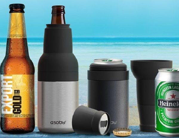 Asobu Frosty Beer 2 Go Vacuum Insulated Beer Bottle & Cooler-GadgetAny