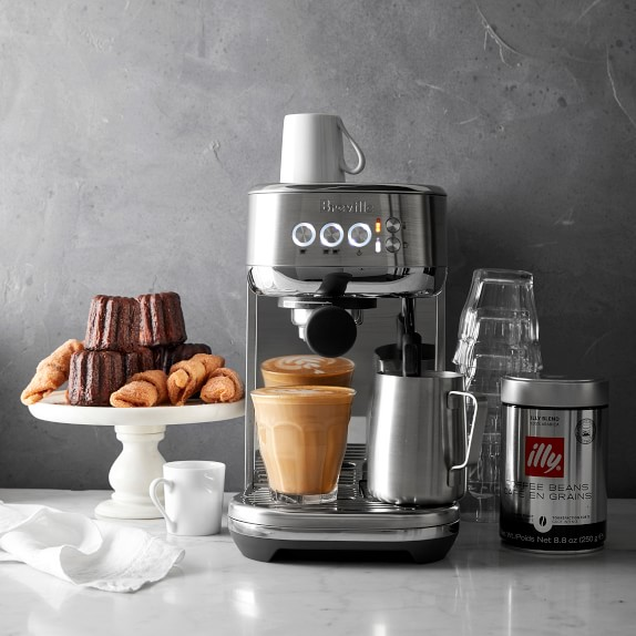 Breville BES500BSS Bambino Plus Coffee Machine-GadgetAny