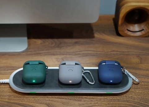 GAZEON Qi-Compatible Airpods Wireless Charging Case-GadgetAny