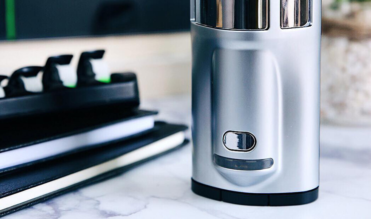 GHOST Vapes: MV1 Dry Herb Vaporizer-GadgetAny