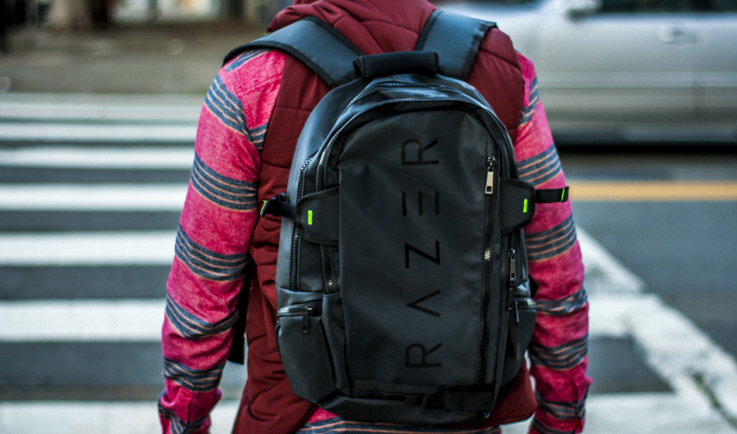 Razer Rogue: Protective Gaming Laptop & Notebook Backpack-GadgetAny